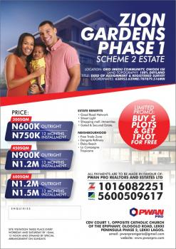 Available Land, Akodo Ise, Ibeju Lekki, Lagos, Land for Sale