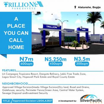 Trillion Park Estate an Affordable Luxury Designed for Class. This Estate a Great Investment for Buy and Build and Land Banking., Located in The Serene Area of Bogije, a Place That Welcomes You Home. with Proximity to Pan African University, Shoprite, The Lekki British School, Farapark, Greenspring School, Coscharis Motors. Get Free 1000 Blocks per Plot and Get Instant Allocation., Lekki, Lagos, Mixed-use Land for Sale
