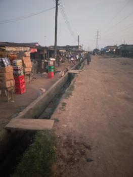 Half Plot of Land with Few Rooms on a Tarred Street, Abdul Salau Street, Isheri Olofin, Alimosho, Lagos, Mixed-use Land for Sale