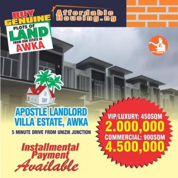 Estate Land, Close to Polytechnic, Five Minutes After Unizik, Awka, Anambra, Residential Land for Sale