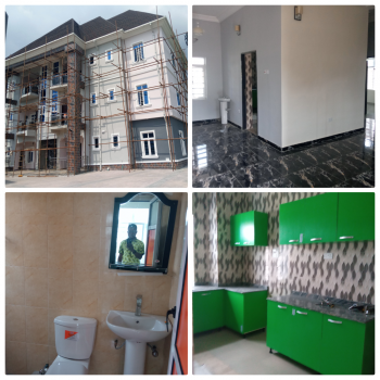 Luxury 2 Bedroom Flat with 24hrs Power Suply Inverter Panel for Each Apartment in an Estate, Amuwo Odofin, Isolo, Lagos, Flat for Rent