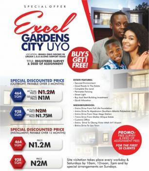 Excel Garden, Ibiaku Obio Ndobo, Okpoto, Uruan, Akwa Ibom, Residential Land for Sale