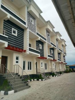 Newly Built 4 Bedroom Terraced with Bq, Guzape District, Abuja, Terraced Duplex for Sale