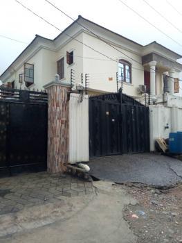 Recently Built 5 Bedroom Duplex with 2 Bedroom Bq, Femi Jefferson Estate Oke-ira, Ogba, Ikeja, Lagos, Detached Duplex for Sale