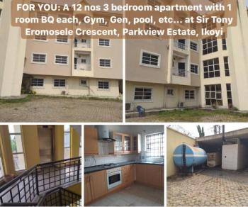 Lovely 12 Nos 3 Bedroom Flat with a Room Boys Quarter, Parkview, Ikoyi, Lagos, Block of Flats for Sale