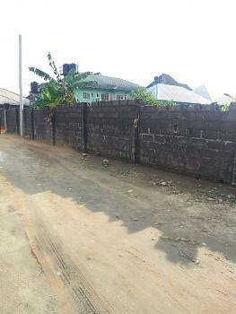 Fenced 1 & Half Plot of Land in Elioparanwo for Sale, Elioparanwo, Port Harcourt, Rivers, Residential Land for Sale