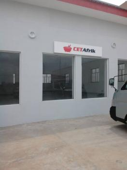a Well Built Beautiful Ground Floor Space. Well Tiled Floors, Water, Parking Spaces., at Toll Gate Bus Stop, Directly on Along The Lagos-abeokuta Expressway, Sango Ota, Ogun, Shop for Rent