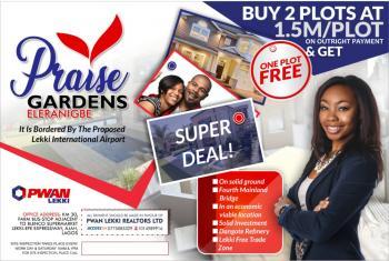 Estate Land, Close to Amen Estate and Dangote Refinery,and Pan Atlantic University, Eleranigbe, Ibeju Lekki, Lagos, Residential Land for Sale