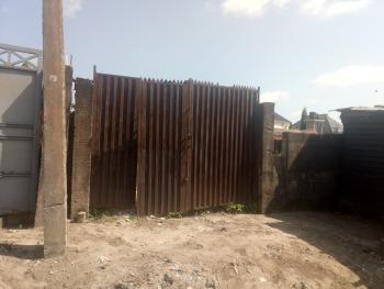 657 Sqm Dry Land Fenced with Built Foundation, Along The Road After Rohi School., Ogombo, Ajah, Lagos, Residential Land for Sale
