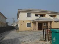 4 Bedroom Semi Detached Duplex With Boys Quarters, Ikota Villa Estate, Lekki, Lagos, 4 bedroom, 5 toilets, 4 baths Semi-detached Duplex for Sale