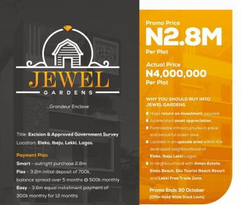 Land in a Serene Environment, Lekki Coastal Road, Eleko, Ibeju Lekki, Lagos, Mixed-use Land for Sale