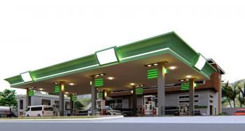 Fantastic 5600sqm Petrol Filling Station Land, C of O, P F S Land Between Utako & Wuye, Wuye, Abuja, Commercial Land for Sale