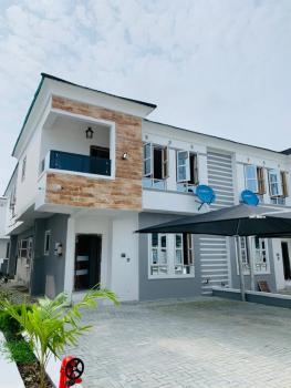 Fully Serviced 4 Bedroom Semi Detached Duplex with Bq, Lafiaji, Lekki, Lagos, Semi-detached Duplex for Rent