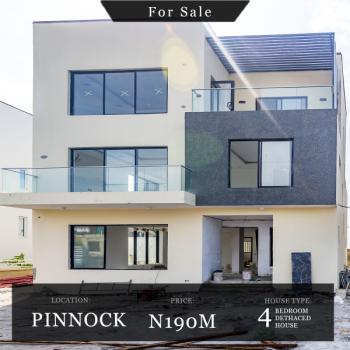 Contemporary 4 Bedroom Fully Detached House, Pinnock Beach Estate, Osapa, Lekki, Lagos, Detached Duplex for Sale