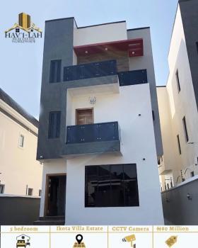 5 Bedroom Detached Duplex with 1 Bq, Ikota Villa Estate, Lekki, Lagos, Detached Duplex for Sale