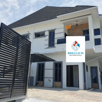 4 Bedroom Semi Detached Duplex, Ikota Villa Estate, Lekki, Lagos, House for Sale