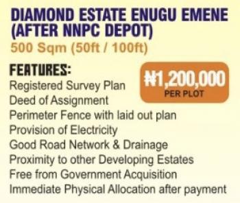 Affordable Estate Land, After Nnpc Depo, Emene, Enugu, Enugu, Residential Land for Sale