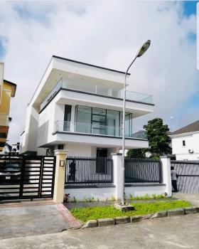 Massive 5 Bedroom Detached Duplex Glass House with Bq, London, Osapa, Lekki, Lagos, Detached Duplex for Sale