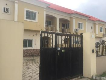 3 Bedroom Terraced Duplex with 2 Living Room and Bq, Lugbe District, Abuja, Terraced Duplex for Rent
