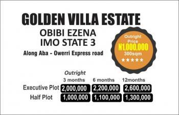 Estate Land, Along Aba Owerri Expressway, Owerri, Imo, Residential Land for Sale