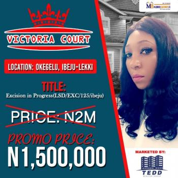 Affordable Estate Land, 3 Minutes From La Campagne Tropicana Beach Resort, Ibeju Lekki, Lagos, Residential Land for Sale
