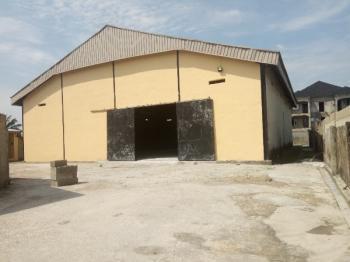 Well Located Warehouse Facing The Road, Ogidan, Sangotedo, Ajah, Lagos, Warehouse for Rent