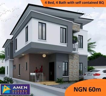 Luxury  4 Bedrooms, 4 Baths with Self-contain  Bq, Eleko, Ibeju Lekki, Lagos, Detached Duplex for Sale