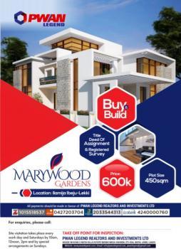 Estate Land, Close to Pan Atlantic University and Dangote Refinery, Eleko, Ibeju Lekki, Lagos, Residential Land for Sale