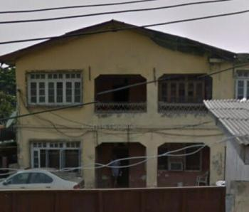One Storey Building on 1 & 1/2 Plot, Olatilewa Street, Kilo, Surulere, Lagos, Detached Duplex for Sale
