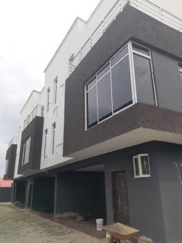 Brand New 4 Bedroom Terrace Duplex on 2 Floors with Fitted Kitchen & Bq, Akora Estate, Off, Adeniyi Jones, Ikeja, Lagos, Terraced Duplex for Sale