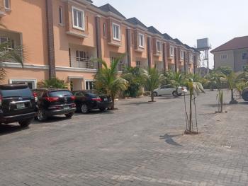 Lovely and Well Built 4 Bedroom Serviced Terraced Duplex with a Room Bq, Swimming Pool, Gym,etc., Off Kazeem Eletu Way, Osapa, Lekki, Lagos, Terraced Duplex for Rent