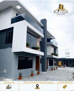 Serviced Units of 5 Bedroom Semi Detached Houses with a Room Bq, Oniru, Victoria Island (vi), Lagos, Semi-detached Duplex for Sale