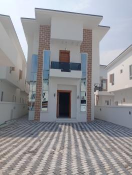 Excellently Built 5 Bedroom Detached Duplex with a Room Bq, Fitted Kitchen,etc., Off Kazeem Eletu Way, Osapa, Lekki, Lagos, Detached Duplex for Sale
