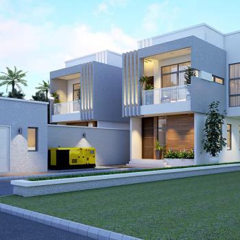 5 Bedroom 2 Units of Luxury Finished Detached, Jora Estate, Agungi, Lekki, Lagos, Detached Duplex for Sale