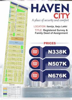 Affordable Dry Estate Land, Ilamija in The Neighbourhood of New International Airport, Ibeju Lekki, Lagos, Residential Land for Sale