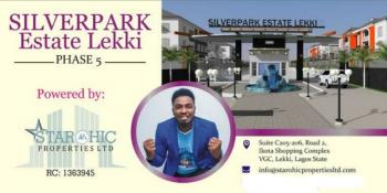 Residential Land [buy and Build], Excision, Monetary Road, Silverpark Estates Phase 5, Sangotedo, Ajah, Lagos, Residential Land for Sale