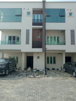 New 3 Bedroom Terrace House (carcass) with  Payment Plan Options, Chevron Alternative Road, Lekki, Lagos, Terraced Duplex for Sale