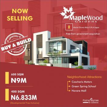 Estate Land, Abijo Gra Close to The Road, Sangotedo, Ajah, Lagos, Residential Land for Sale