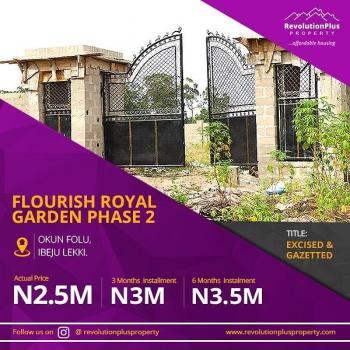 Estate Land Government Excisions, Gazette, Dangote Refinery, Eleko, Ibeju Lekki, Lagos, Residential Land for Sale