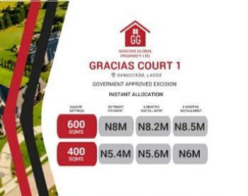 Estate Land, Behind Shop Rite, Sangotedo, Ajah, Lagos, Residential Land for Sale