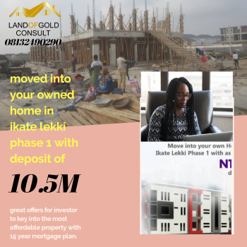 Own Your 2 Bedroom Home with Mortgage Plan 15 Years, Away From Ikate Expressway, Lekki Phase 1, Lekki, Lagos, Block of Flats for Sale
