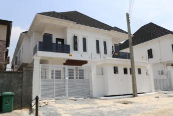 Brand New Luxury and Superbly Finished 4 Bedroom Semi-detached House with Boys Quarter, Agungi, Lekki, Lagos, Semi-detached Duplex for Sale