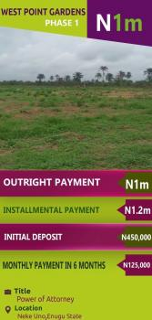 Estate Land, Neke Uno, Enugu, Enugu, Residential Land for Sale