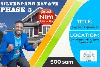 Estate Land, New International Airport, One Mile Away From Dangote Refinery, Eleko, Ibeju Lekki, Lagos, Residential Land for Sale