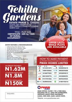 Estate Land, Off Airport Junction, Owerri-aba Road, Ngor-okpala, Imo State, New Owerri, Owerri, Imo, Residential Land for Sale