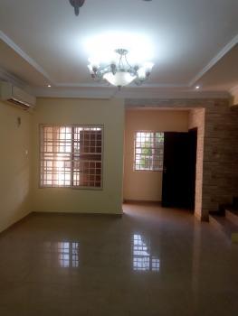 Luxury 3 Bedrooms Terraced Duplex with a Room Bq in a Mini Estate, Off Olusegun Obasanjo Way, Wuye, Abuja, Terraced Duplex for Rent