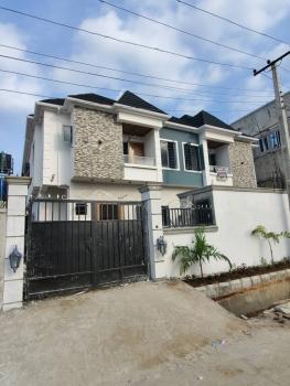 Well Finish 4 Bedroom Semi Detached Duplex with Bq, Off Chevron Drive, Chevy View Estate, Lekki, Lagos, Semi-detached Duplex for Sale