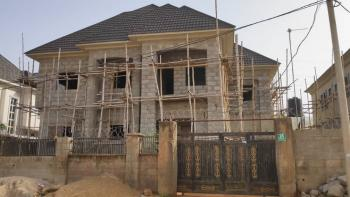 5 Bedroom Detached Duplex Carcass with 1 Bedroom Finished Apartment, Dawaki, Gwarinpa, Abuja, Detached Duplex for Sale