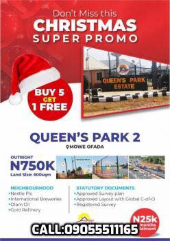 Queens Park Estate, Phase 2, Mowe Ofada, Ogun, Residential Land for Sale
