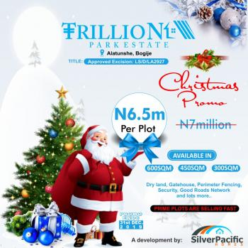 Trillion Park Estate an Affordable Luxury Designed for Class. This Estate a Great Investment for Buy and Build and Land Banking., Located in The Serene Area of Boygije, a Place That Welcomes You Home. with Proximity to Pan African University, Shoprite, The Lekki British School, Farapark, Greenspring School, Coscharis Motors. with Perfect Title Documentations, Lekki, Lagos, Mixed-use Land for Sale